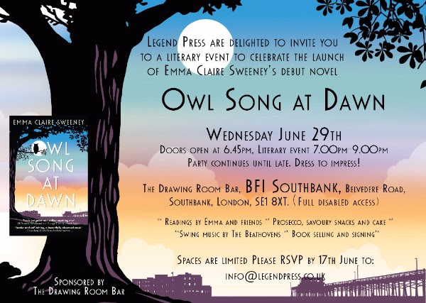 Owl Song at Dawn London launch
