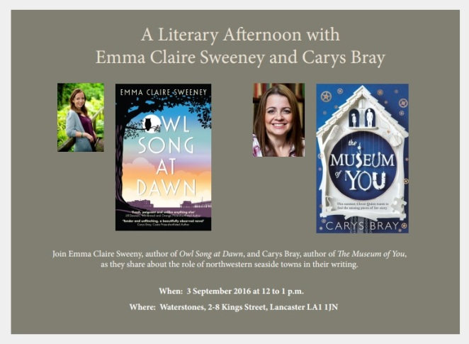 Literary Afternoon September 3